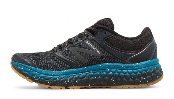 Fresh Foam 1080v7 Brooklyn Half, Black with Thunder & Deep Ozone Blue