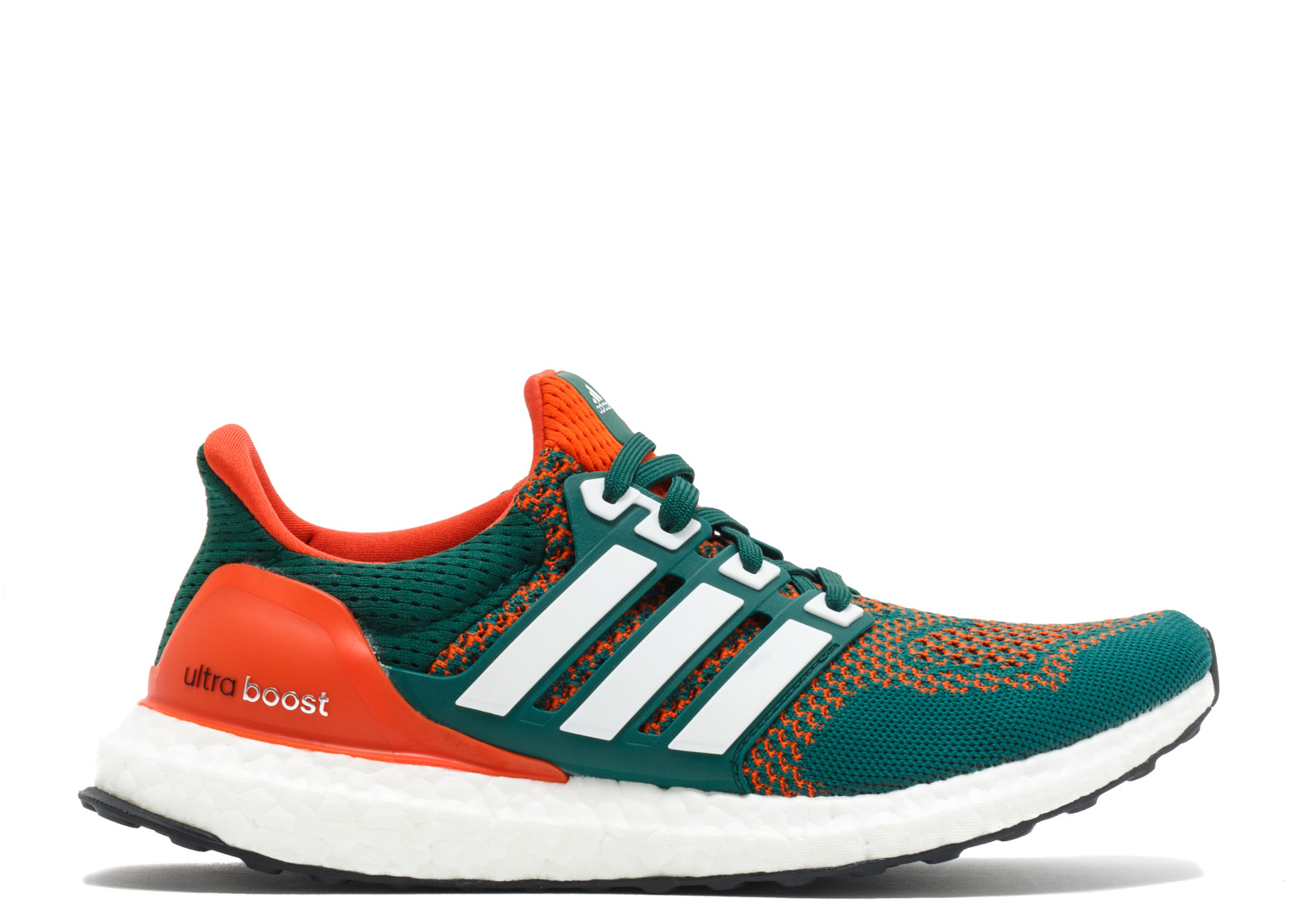 University Of Miami Hurricanes >> Adidas Ultra Boost Miami Hurricanes | Sneakerando - The Sneakers Shop