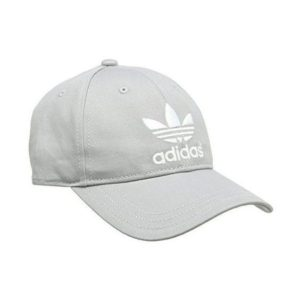 Adidas AC Classic Cap Solid Grey/White, One Size