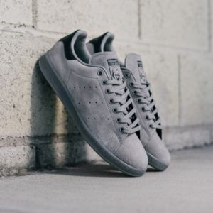 "Adidas Stan Smith ""Grey Suede"""