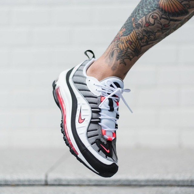 new style b0560 1436d Nike Air Max 98 Solar Red   Sneakerando - The Sneakers Shop
