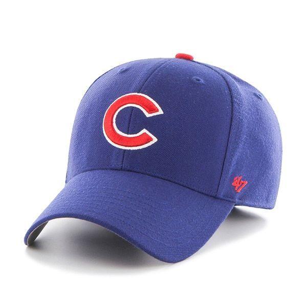 Chicago Cubs MVP Home 47 Brand Adjustable Hat