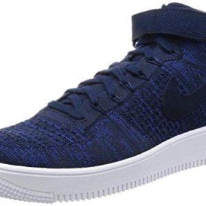 NIKE Men's AF1 Ultra Flyknit Mid Basketball Shoe