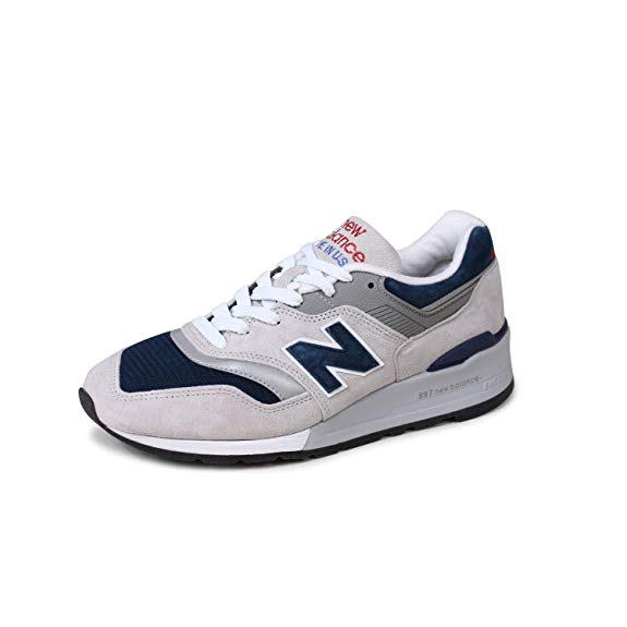 New Balance Men's Made in USA Grey/Blue M997