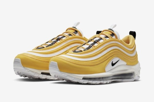 Nike Air Max 97s in Spring Yellow