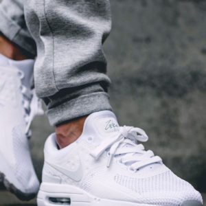 NIKE AIR MAX ZERO 'Triple White'