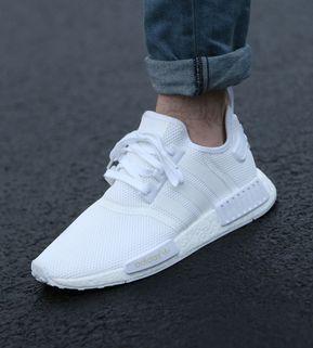 Adidas NMD_R1 pure white
